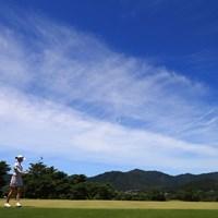 4位タイ、空が綺麗 2018年 センチュリー21レディスゴルフトーナメント 最終日 カリス・デイビッドソン