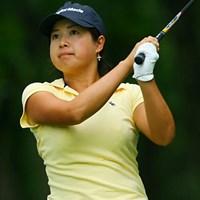 暫定ながら5アンダーで単独首位に立った山口千春 2006年 日本女子プロゴルフ選手権大会コニカミノルタ杯 初日 山口千春