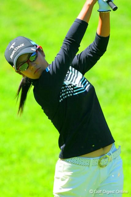 2006年 日本女子プロゴルフ選手権大会コニカミノルタ杯 2日目 宮里藍 前半からスコアを伸ばし6アンダー暫定首位でホールアウトした宮里藍