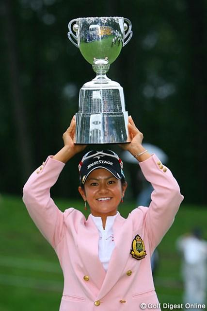 2006年 日本女子プロゴルフ選手権大会コニカミノルタ杯 最終日 宮里藍 帰国初戦で2つ目の国内メジャータイトルを手にした宮里藍