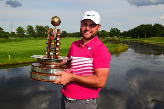前年はプレーオフを制したジョーダン・スミスが優勝した(Tony Marshall/Getty Images)
