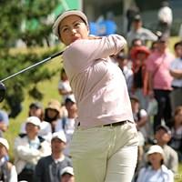 2日間首位をキープする坂東貴代。2002年以来の優勝なるか!? 2006年 ミヤギテレビ杯ダンロップ女子オープンゴルフトーナメント 2日目 坂東貴代