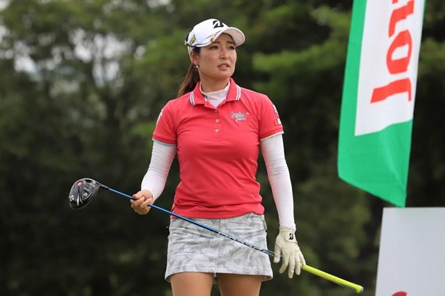 4アンダーで初日を終えた横山倫子(※提供:日本女子プロゴルフ協会)