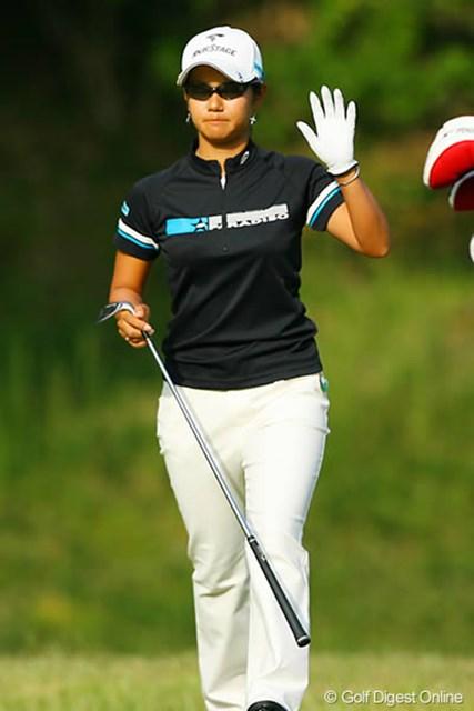 2006年 日本女子オープンゴルフ選手権競技 2日目 宮里藍 連覇に黄色信号!首位と8打差となった宮里藍