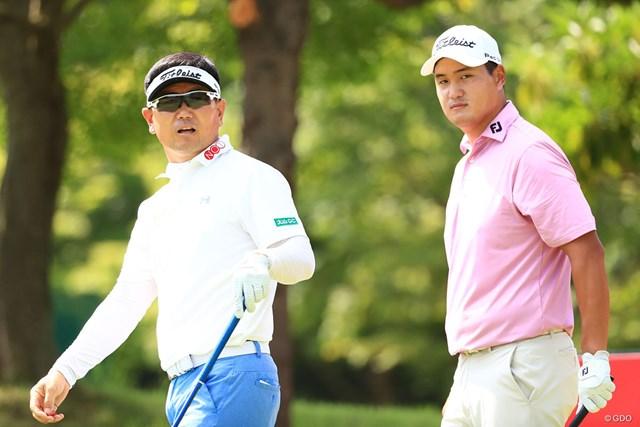 3回戦に進んだキム・シバン(右)。韓国のレジェンドから金星を奪った