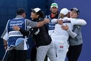 2018年 アバディーンスタンダードインベストメンツ 女子スコットランドオープン 3日目 アリヤ・ジュタヌガン エイミー・ヤン