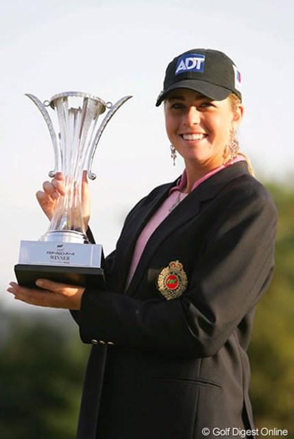 昨年日本ツアー3連勝を飾った思い出の地で連覇を狙うポーラ・クリーマー