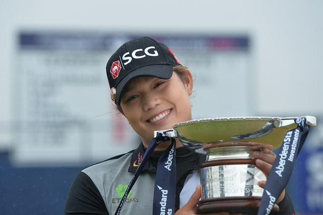 アリヤ・ジュタヌガンが今季3勝目を挙げた(Mark Runnacles/Getty Images)