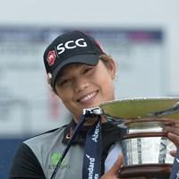 アリヤ・ジュタヌガンが今季3勝目を挙げた(Mark Runnacles/Getty Images) 2018年 アバディーンスタンダードインベストメンツ 女子スコットランドオープン 最終日 アリヤ・ジュタヌガン