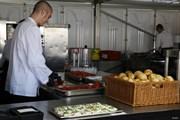 2018年 ポルシェ ヨーロピアンオープン 最終日 厨房