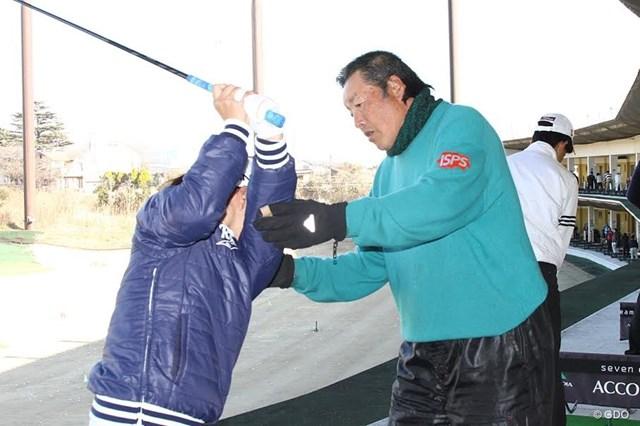 2018年 尾崎将司 NPO法人の設立を発表した尾崎将司。ジュニア育成の活性化を図る