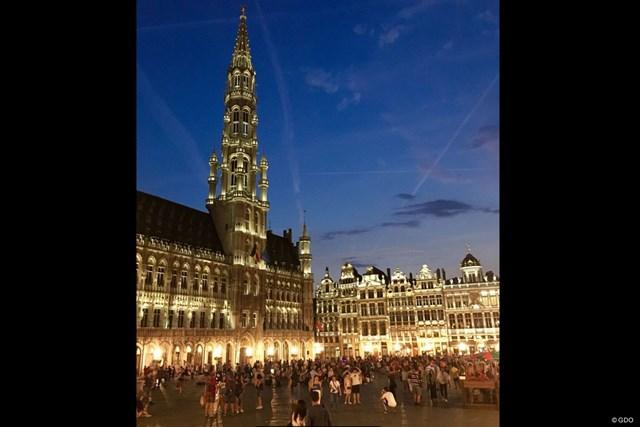 ブリュッセルのグラン・プラス。美しい広場です