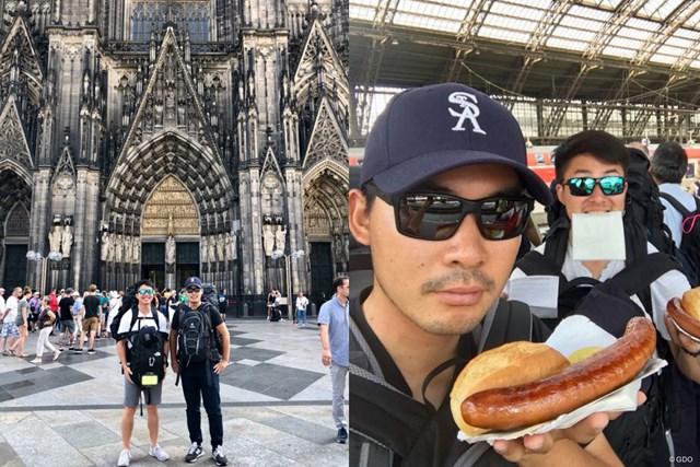 ケルンの大聖堂とでっかいソーセージ。ドイツに立ち寄りました