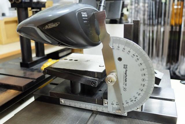 ロフト角9.5度だと、リアルロフト角は10.5度。ロフト可変式なので、ヘッドは1種類のみだ