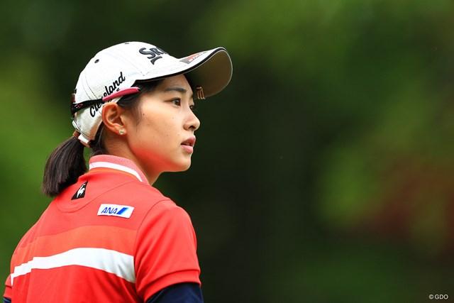 女子ゴルファーの横顔