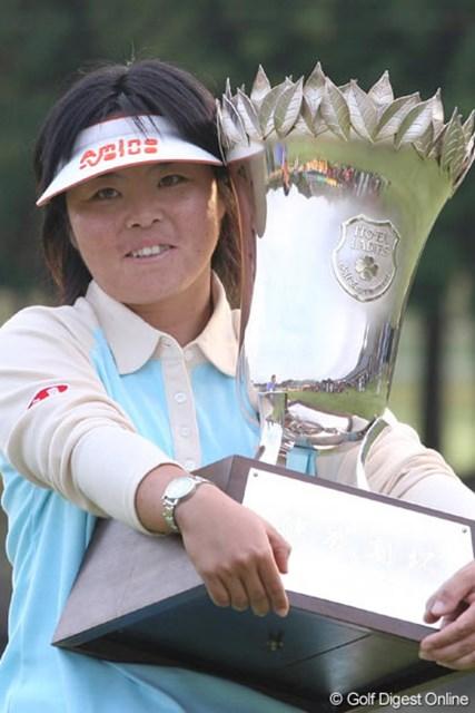 2006年 伊藤園レディスゴルフトーナメント 事前 不動裕理 ディフェンディングチャンピオンの不動裕理が、約1ヵ月ぶりにツアー復帰を果たす!