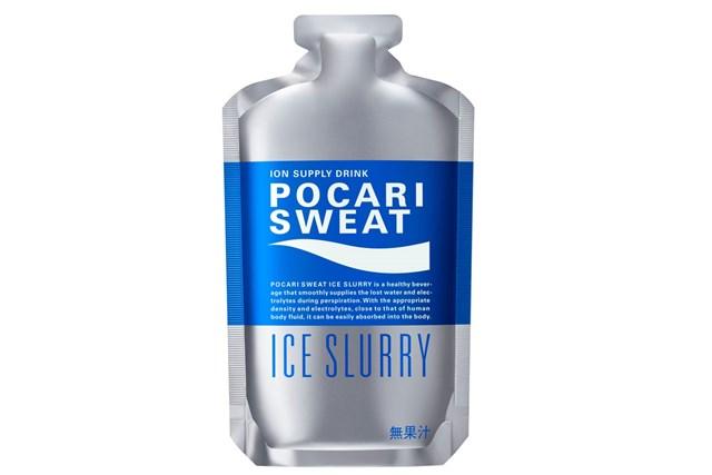 大塚製薬が発売した「ポカリスエット アイススラリー」