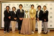 2018年 日本女子プロ選手権大会コニカミノルタ杯 事前 記者発表