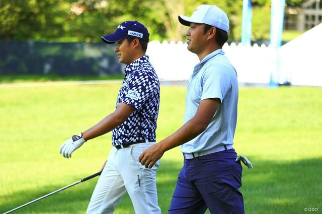 2018年 全米プロゴルフ選手権 事前 今平周吾 時松隆光 今平周吾と時松隆光は開幕前日に一緒に練習ラウンド。若い力はメジャーに通用するか