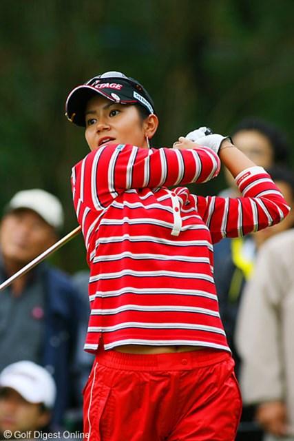 2006年 LPGAツアーチャンピオンシップリコーカップ 最終日 宮里藍 ストローク伸ばし2位タイに食い込んだ宮里藍