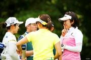 2018年 NEC軽井沢72ゴルフトーナメント 初日 大山志保 比嘉真美子 有村智恵