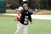 2006年 日韓女子プロゴルフ対抗戦 最終日 古閑美保