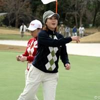 トップスタートの古閑美保が張晶と引き分け日本に流れを引き寄せた 2006年 日韓女子プロゴルフ対抗戦 最終日 古閑美保