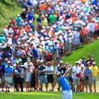 後ろがすごいことに 2018年 全米プロゴルフ選手権 2日目 イアン・ポールター