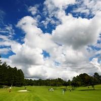 日本の夏、最終組の夏 2018年 NEC軽井沢72ゴルフトーナメント 2日目 石川明日香 木戸愛 黄アルム
