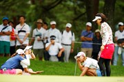 2018年 NEC軽井沢72ゴルフトーナメント 2日目 小野祐夢 宮田成華 大山志保