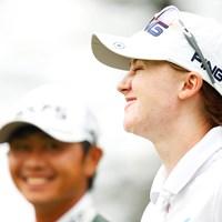 笑顔の行方 2018年 NEC軽井沢72ゴルフトーナメント 2日目 カリス・デイビッドソン