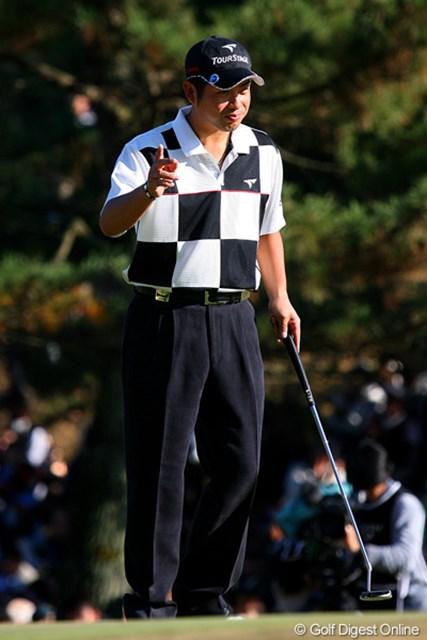 賞金ランク2位で今シーズンを池田勇太。来年も間違いなくシーズンを盛り上げてくれるだろう