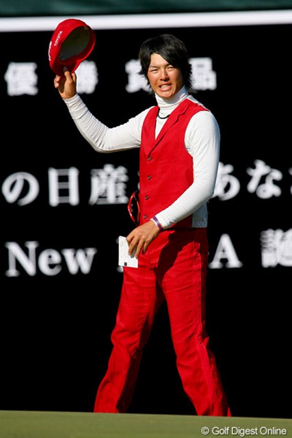18歳と80日。石川遼が尾崎将司の記録を大幅に更新しての最年少賞金王に輝いた