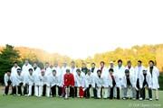 2009年 ゴルフ日本シリーズJTカップ最終日 集合写真