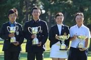 2018年 日本ジュニアゴルフ選手権 吉沢己咲 杉浦悠太 吉田優利 森愉生