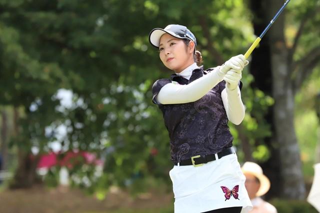 4季ぶりの優勝を狙う山里愛 提供:日本女子プロゴルフ協会