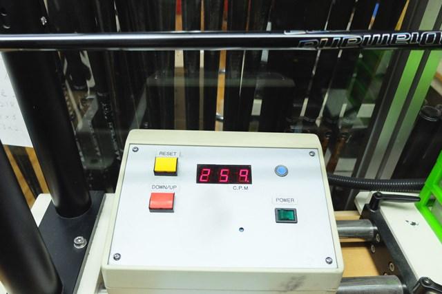 振動数は259cpmで、アフターマーケット用のSとしては適度な硬さだ