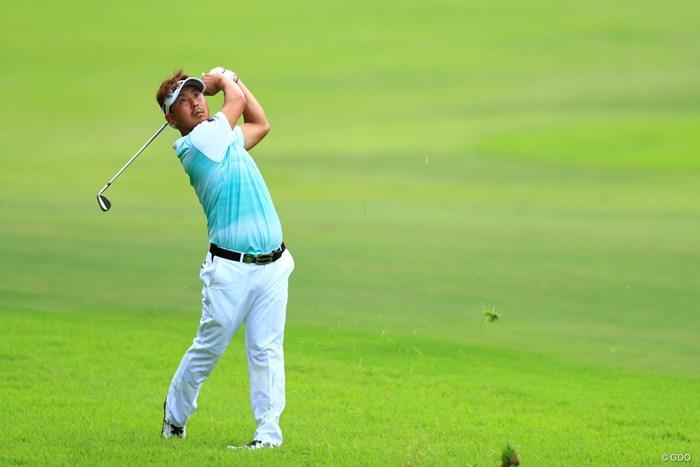 そろそろビシッと決めてもらわないと、、、怒るよ!! 2018年 ニトリレディスゴルフトーナメント 初日 塚田陽亮