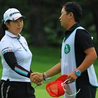 今日は我慢のゴルフでしたが、よく耐え切りましたね。 2018年 ニトリレディスゴルフトーナメント 2日目 武尾咲希
