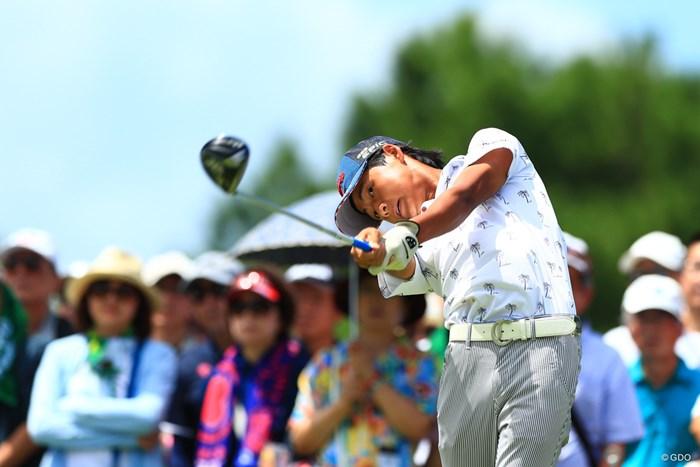 この角度似てるなーー 2018年 RIZAP KBCオーガスタゴルフトーナメント 2日目 石川航