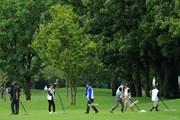 2018年 ニトリレディスゴルフトーナメント 3日目 コース整備