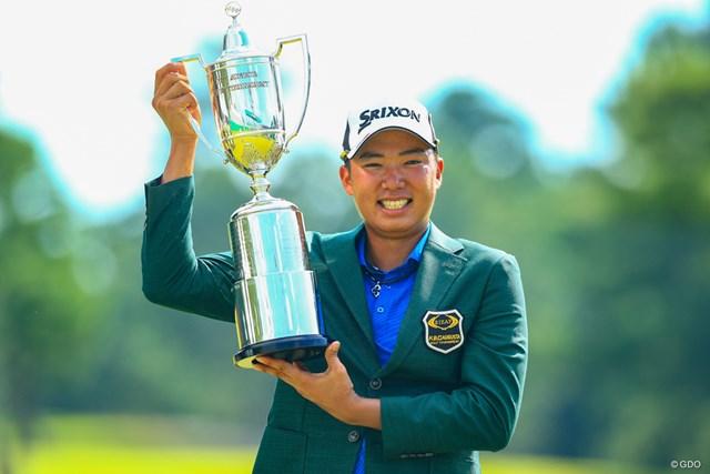 出水田大二郎が初優勝を遂げた