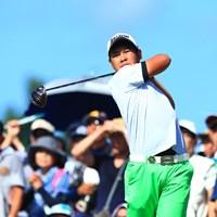15歳のアマチュア・久常涼は岡山出身の高校1年生 2018年 RIZAP KBCオーガスタゴルフトーナメント 最終日 久常涼