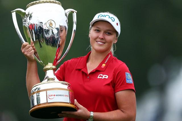 母国カナダのナショナルオープンでB.ヘンダーソンが優勝を遂げた(Vaughn Ridley/Getty Images)