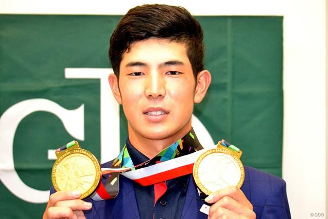 20年ぶりの金メダルを獲得した中島啓太