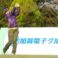 2位タイの松平真佐美。前半の遅れを後半で巻き返した LPGA新人戦加賀電子カップ初日/松平真佐美