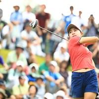 1番ティーショット 2018年 ゴルフ5レディス プロゴルフトーナメント 初日 三浦桃香