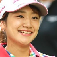 とっても素敵な笑顔だね 2018年 ゴルフ5レディス プロゴルフトーナメント 初日 安田彩乃