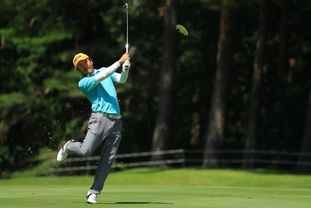 2018年 フジサンケイクラシック 2日目 チェ・ホソン ゴルフ界でも話題に上ることが多いチェ・ホソンの独特なスイング