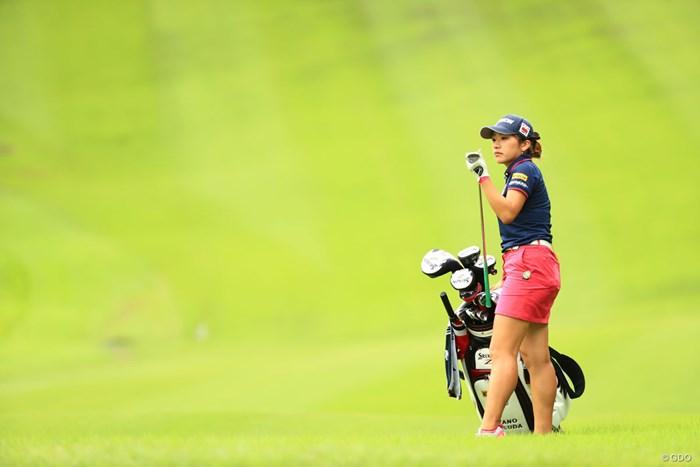 選択クラブはウェッジ 2018年 ゴルフ5レディス プロゴルフトーナメント 2日目 安田彩乃